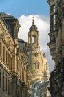 Фрауенкірхе Дрезден, Німеччина — стокове фото