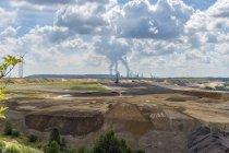 Germany, Grevenbroich, Garzweiler surface mine — Stock Photo