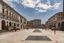 Squre della Vittoria, Bréscia — Fotografia de Stock