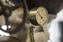 Manomètre à gaz torréfacteur de café — Photo de stock