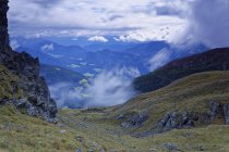 Austria, Carinthia, Drau Valley in clouds — Stock Photo