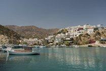 Greece, Crete, view to Agia Galini — Stock Photo