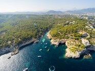 Spain, Balearic Islands, Mallorca, Bay of Cap Falco — Stock Photo