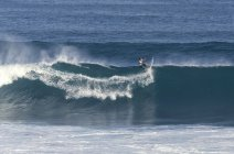 Indonesia, Bali, Surfer on a wave — Stock Photo