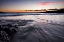 Sunrise at the ocean at Tenerife, Spain — Stock Photo
