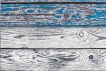 Bars with flaking blue colour, close-up — Stock Photo