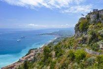 Santuario Madonna della Rocca, Taormina, Sicilia, Italia — Foto stock