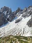 Itália, Alto Adige, Dolomitas de Sesto com Elfer, Hochpuster Valley, Rifugio Berti — Fotografia de Stock