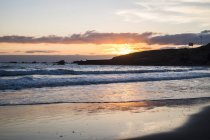 Spain, Tenerife, Sunrise at the ocean — Stock Photo