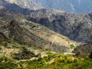 Oman, Jabal Akhdar, plateau de Sayq — Photo de stock