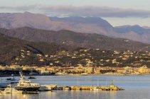 Вид на море, Савона, Лигурия, Италия — стоковое фото