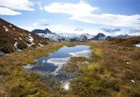 Австрія, Pongau, Grossarl долини, подання Ellmau долини, Radstaetter Tauern — стокове фото