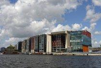 Paesi Bassi, Amsterdam, Conservatorio contro l'acqua — Foto stock