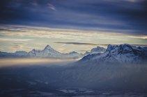 Alemanha, Berchtesgaden, Watzmann e Untersberg — Fotografia de Stock