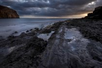 Paisaje de España, Tenerife, en el océano - foto de stock
