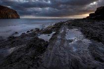Spain, Tenerife, Landscape at the ocean — Stock Photo