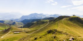 Autriche, Tyrol, Kitzbuehel, paysage à Kitzbuehel Horn — Photo de stock