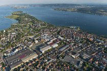 Germany, Lake Constance, Aerial view, Radolfzell — Stock Photo
