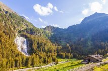 Austria, Tyrol, Stubai, Grawa waterfall — стоковое фото
