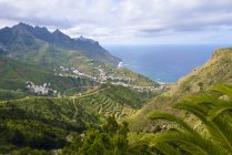 Spain, Canary Islands, Tenerife, Anaga Mountains, Taganana — Stock Photo