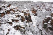 Barranco de la Virgen de la Hoz canyon — Stock Photo