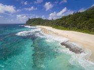 Сейшельські острови Індійського океану острів Махе, анс-Bazarca, пляж — стокове фото