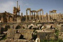 Туніс, Beja губернія, римські руїни Dougga — стокове фото