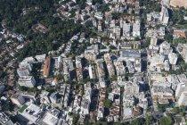 Вид с воздуха на Рио-де-Жанейро днем, Бразилия — стоковое фото