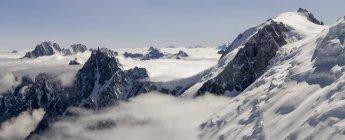 France, Chamonix, Mont Blanc Range — стокове фото