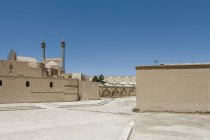 Iran, Isfahan, view to back side of Shah Mosque — Stock Photo