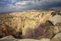 Turquia, Capadócia, vista para o vale vermelho e Rose Valley — Fotografia de Stock