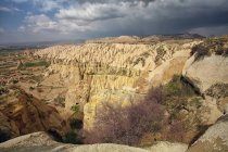 Turchia, Cappadocia, vista Red Valley e Valea Trandafirilor — Foto stock