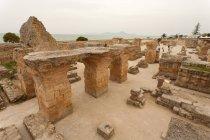 Tunesien, archäologische Seite von Karthago Ruinen — Stockfoto