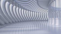 Leeren Saal in einem modernen Gebäude, 3d Rendering — Stockfoto
