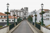 Portugal, Azores, Sao Miguel, buildings in Nordeste municipality — Stock Photo