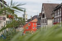 Germany, Ueberlingen, view to minster — Stock Photo