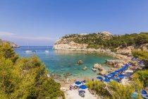 Grecia, Rodi, Anthony-Quinn-Bay vicino Ladiko — Foto stock