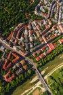 Germany, Bavaria, Munich, isar outskirts, Glockenbach Quarter — Stock Photo
