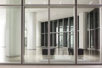 Germany, Frankfurt, view inside the lobby of an office building — Stock Photo