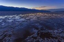 USA, Californie, vallée de la mort, bassin de Badwater — Photo de stock