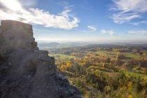 Germany, Bavaria, View from Flossenburg Castle — Stock Photo