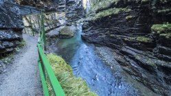 Alemania, Baviera, Allgaeu, Breitachklamm Gorge durante el día - foto de stock