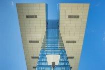 Германия, Колонья, часть фасада Дома союзов — стоковое фото