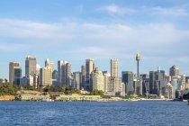 Australien, Sydney, Blick auf die Skyline bei Tag — Stockfoto