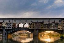 Italy, Tuscany, Florence, Ponte Vecchio — Stock Photo
