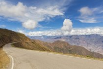 Peru, Chachapoyas, Mountain pass over Andes — Stock Photo