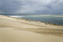 France, Dune of Pilat, tallest sand dune in Europe — Stock Photo