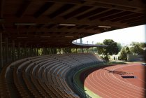Italy, Florence, track and field stadium — Stock Photo