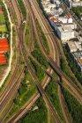 Німеччина, Баварія, Мюнхен, Laim, залізничних переїздах — стокове фото