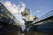 Deutschland, Hannover, Blick auf das Hauptgebäude der Norddeutschen Landesbank — Stockfoto
